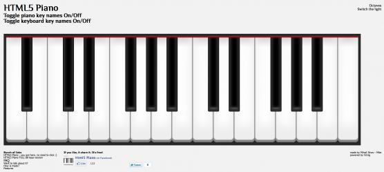 ブラウザーだけで使える音楽系 ...