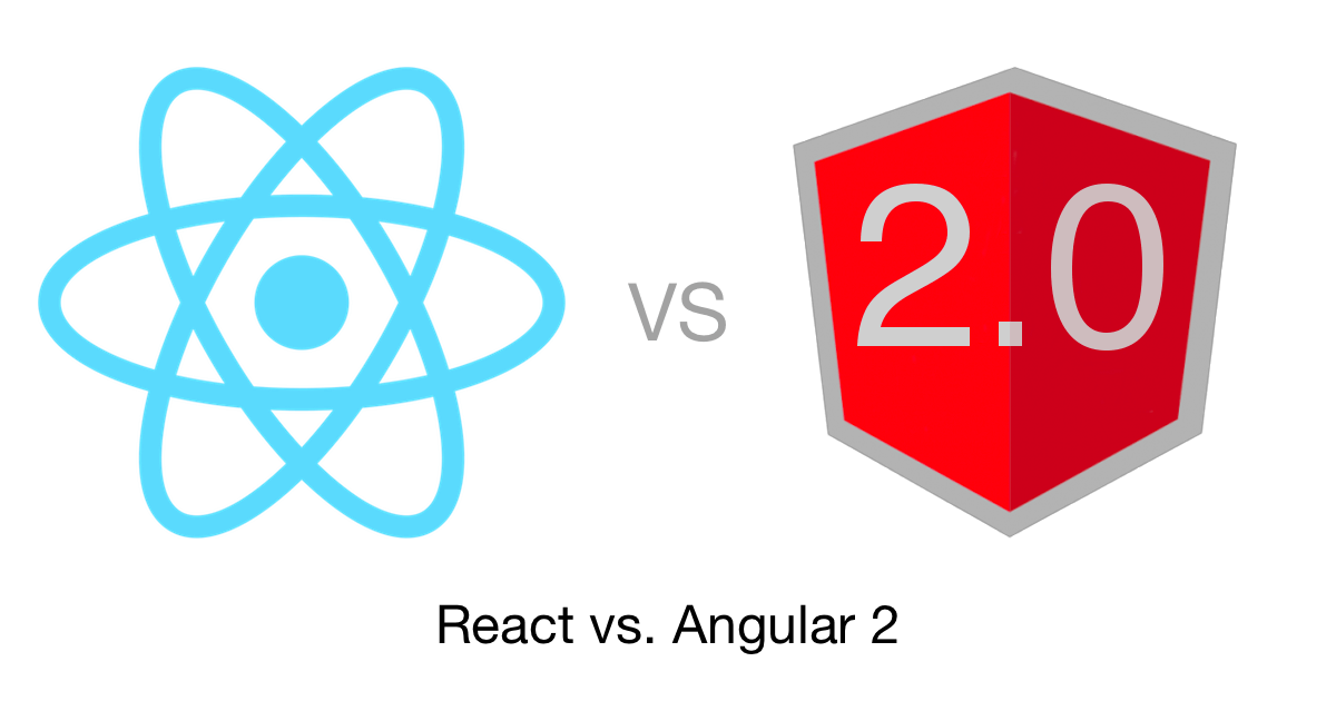 React vs Angular 2