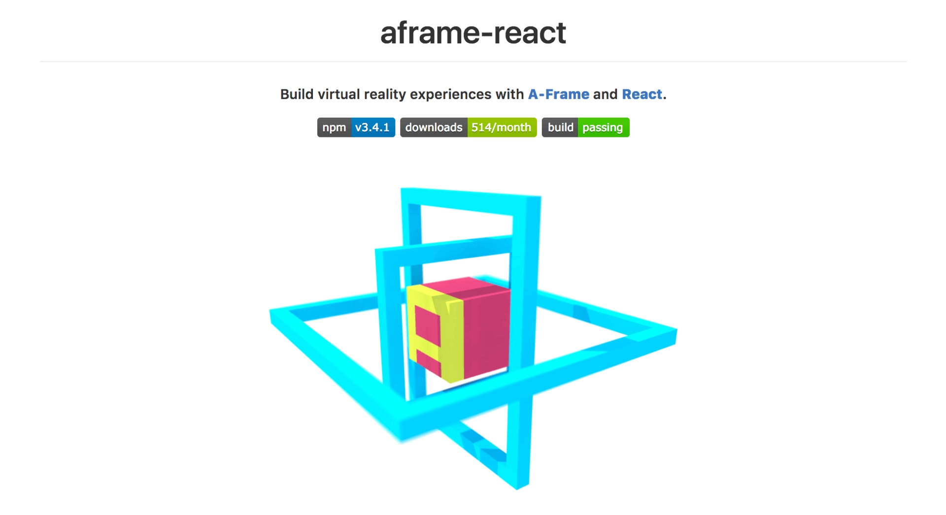 aframe-react